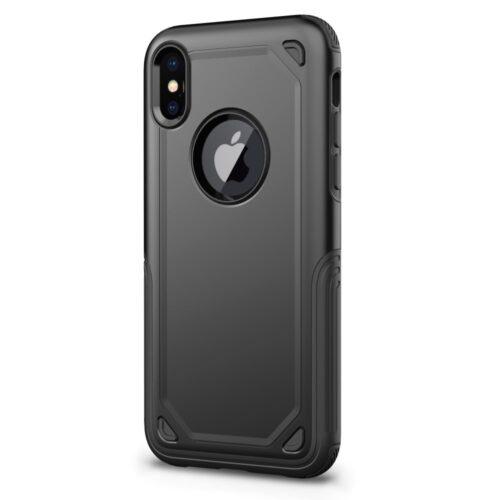 Armor Black iPhone X ütésálló telefontok